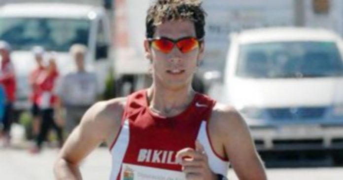 El atleta Javi Guerra