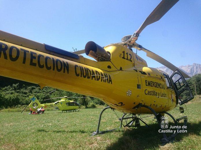 Helicoptero Sanitario SACYL