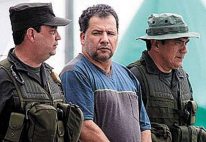 El narcotraficante colombiano Daniel Rendón Herrera