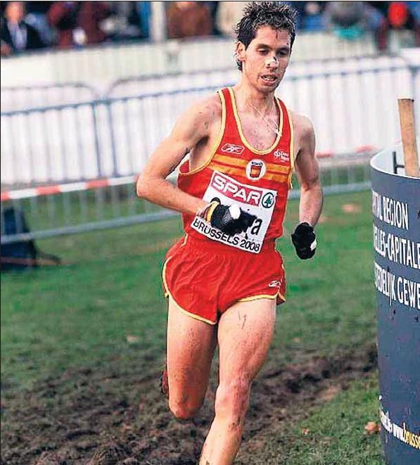 Un joven Javi Guerra disputando en 2011 el campeonato de Europa de cross. Seis años después, volverá a hacerlo. /E.A.