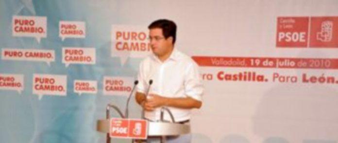 El secretario autonómico del PSOE de Castilla y León