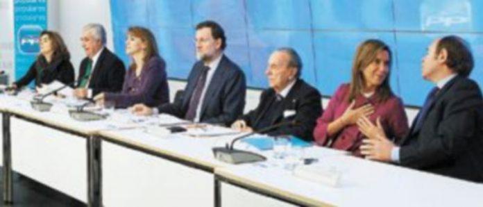 La plana mayor del Partido Popular está del todo convencida de que la próxima cita con las urnas instalará a Mariano Rajoy en el Palacio de La Moncloa. / Efe
