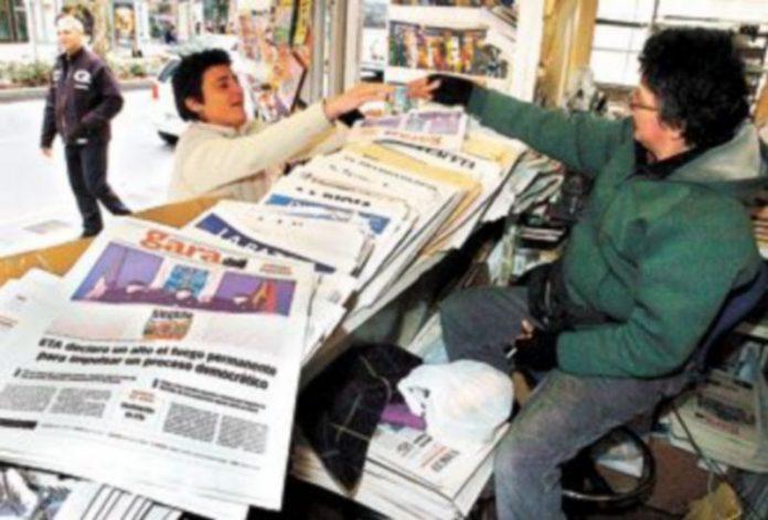 ETA recurre habitualmente al diario 'Gara' para dar a conocer sus proclamas y decisiones