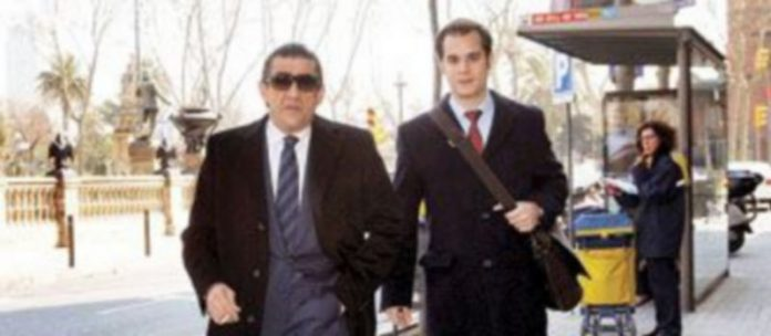 Jaime Martínez-Bordiú (i) fue arrestado el pasado mes de enero por una pelea de tráfico. / Efe