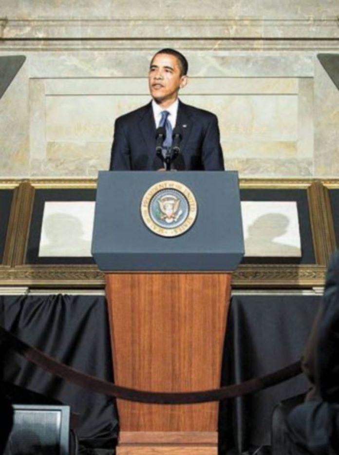 Barack Obama pronuncia su discurso sobre seguridad nacional. / EFE