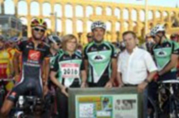 José Luis Pascua Piqueras en la marcha cicloturista Pedro Delgado el pasado agosto./ JUAN MARTÍN