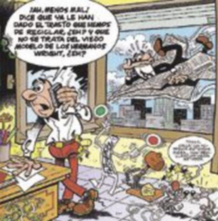 Portada de la primera aventura en formato digital de Mortadelo y Filemón.