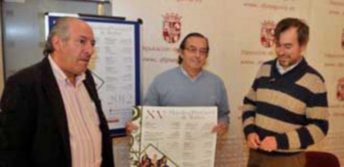 Los representantes del área de Cultura de la Diputación