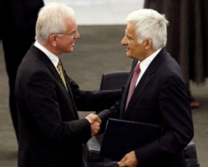 El ex presidente del Parlamento Europeo