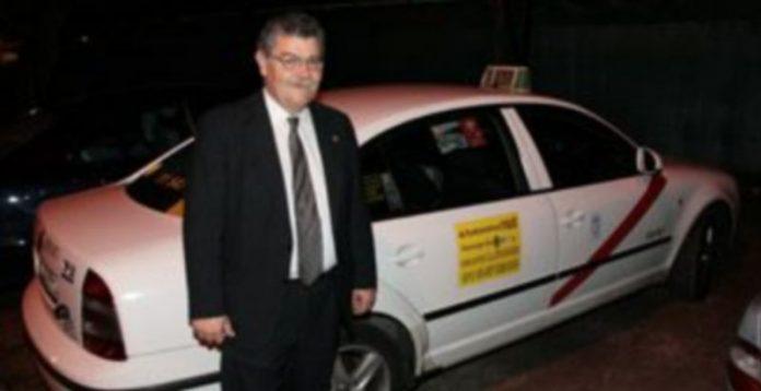 El presidente de la Peña de Taxistas Segovianos