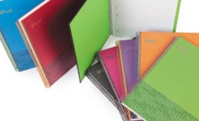 Los cuadernos de la marca 'Frost' tienen este año el valor añadido de contribuir a la conservación de los pinares caucenses./El Adelantado