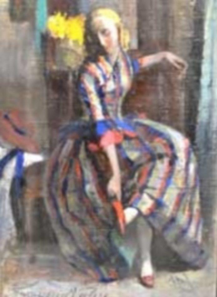 'Retrato de Señora' es la pieza desconocida correspondiente a los meses de septiembre y octubre del Museo de Segovia. / E. A.