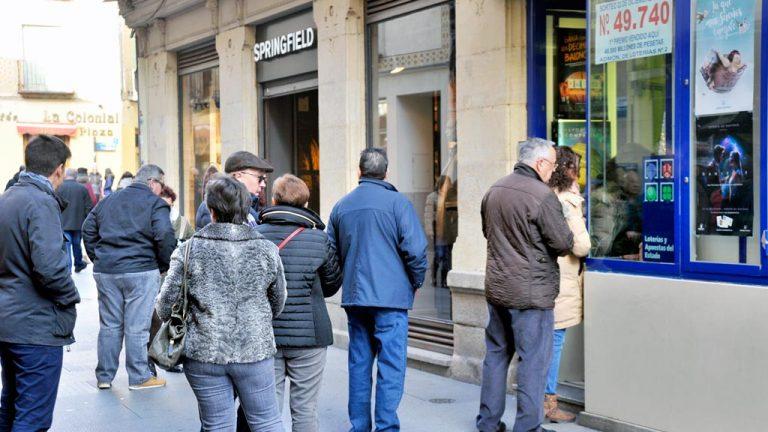 Cada segoviano gastará unos 127 euros en lotería de Navidad