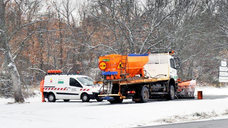 El dispositivo de vialidad invernal, ya a punto