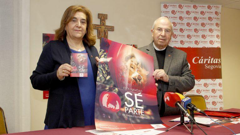 Cáritas llega a más de 2.000 personas en Segovia