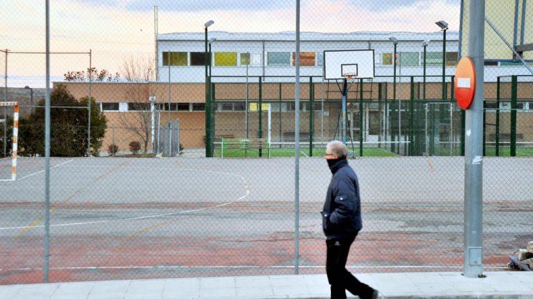 San Cristóbal de Segovia amplía la zona deportiva con dos pistas de pádel y tenis