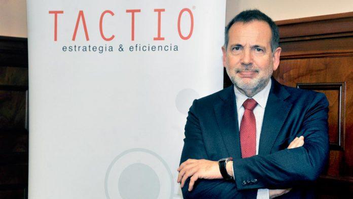 Mario Monrós, presidente de Tactio, asistió a la jornada de trabajo en la FES. / kamarero