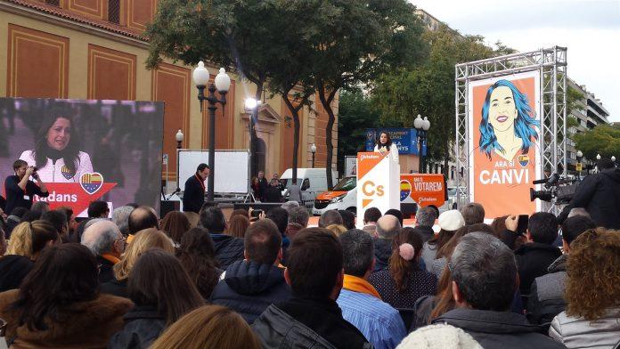 La candidata de C's a la presidencia de la Generalitat, Inés Arrimadas. / EFE