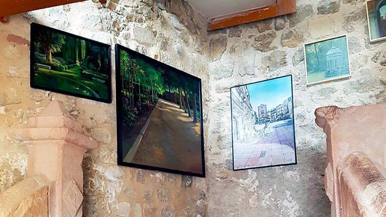 Seis pintores madrileños exponen sus obras esta semana en el edificio del Reloj