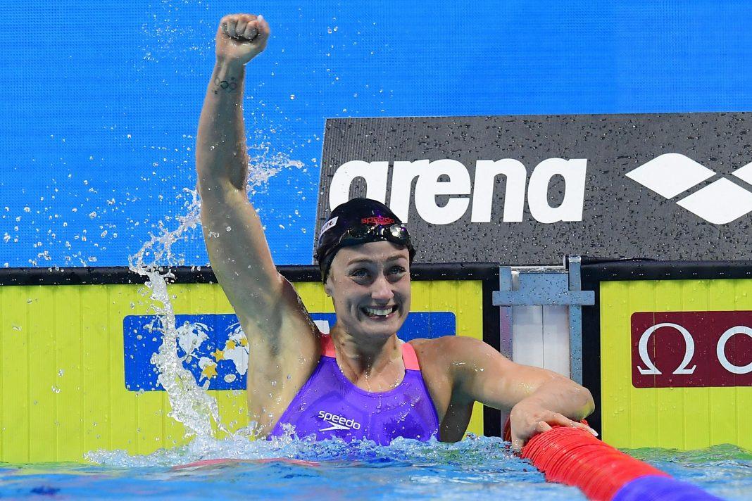 Mireia Belmonte logró el oro mundialista en los 200 metros mariposa.
