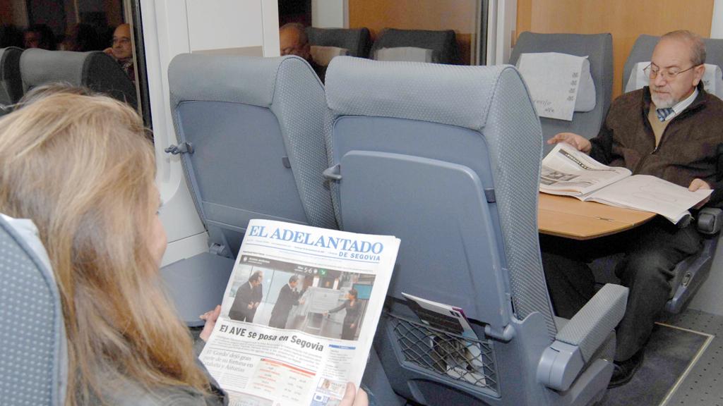 primer viaje en AVE 2007
