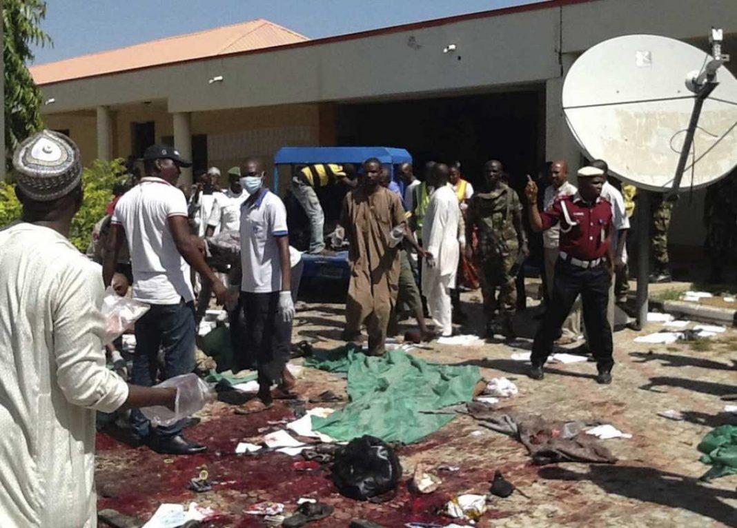 Imagen de un atentado anterior del mismo grupo terrorista en Nigeria