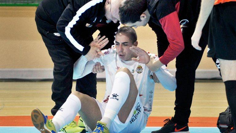Dos lesionados más dejan al Naturpellet en cuadro para Murcia