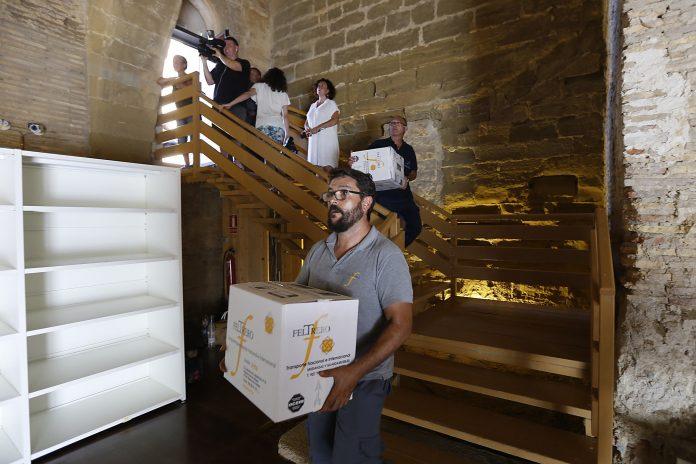 Los bienes están desde hace varios días en el aragonés Monasterio de Sijena por orden directa del ministro de Cultura