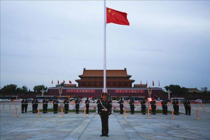 Plaza de Tiananmen, en el centro de Pekín. / EFE