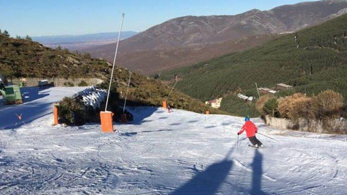 La Pinilla es la única estación de esquí alpino del Sistema Central. / el adelantado