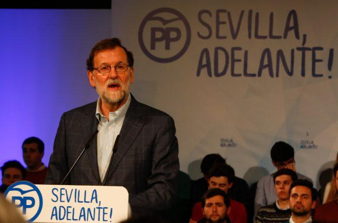 El presidente del Gobierno, Mariano Rajoy, en una imagen durante la Convención de Distritos del PP de Sevilla