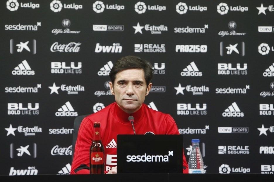 Marcelino García Toral, en rueda de prensa.