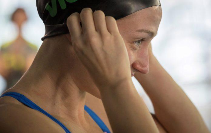 La nadadora catalana Mireia Belmonte ansía conseguir un récord en la pIscina de 50 metros.