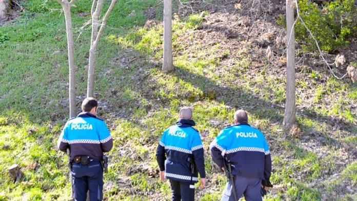 Policia-Local-Paseo-Santo-Domingo-Robo-Cable