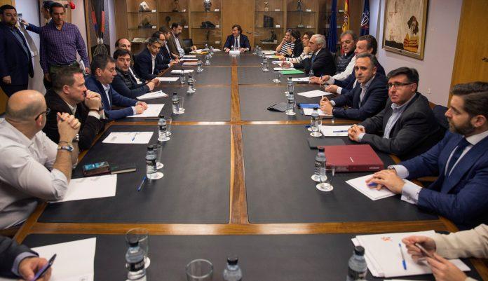 El presidente del CSD, José Ramón Lete, presidió la reunión entre la ACB y el sindicato de jugadores.