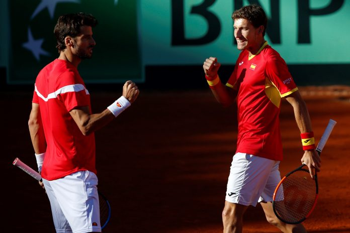 Feliciano López y Carreño superaron en tres sets al dobles británico formado por Jamie Murray y Dominic Inglot.