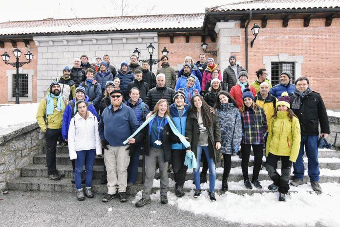 Los congresistas, llegados de todos los rincones del mundo, participaron en el Real Sitio de San Ildefonso, de ponencias y actividades al aire libre.
