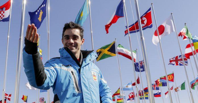 Javier Fernández ya está en la Villa Olímplica de PyeongChang donde comenzará a competir mañana.