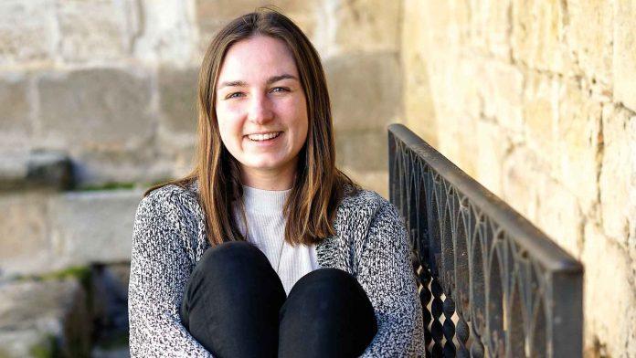 Clara Bütow se graduará en julio en el doble grado en Administración de Empresas y Relaciones Internacionales. / Roberto Arribas