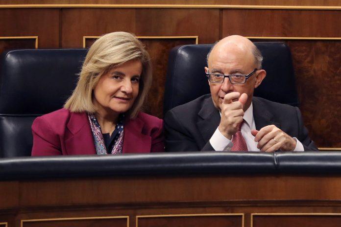 Báñez y Montoro en el Congreso