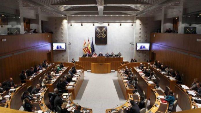Imagen de archivo de las Cortes de Aragón.