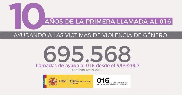 El teléfono de atención a víctimas de malos tratos por violencia de género, es gratuito y no deja huella en la factura.