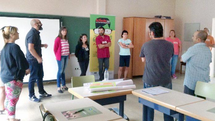 Participantes en un curso de formación en Segovia Sur. / el adelantado