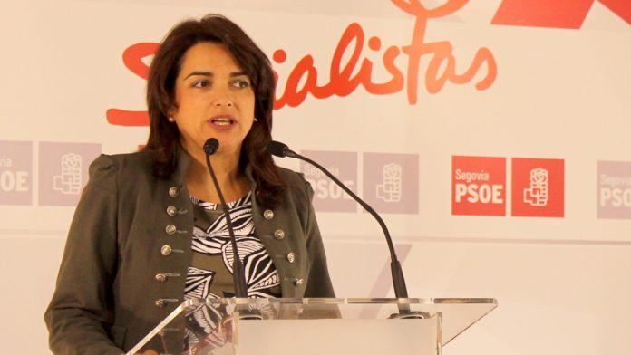 Alicia Palomo, en rueda de prensa. / E.A.