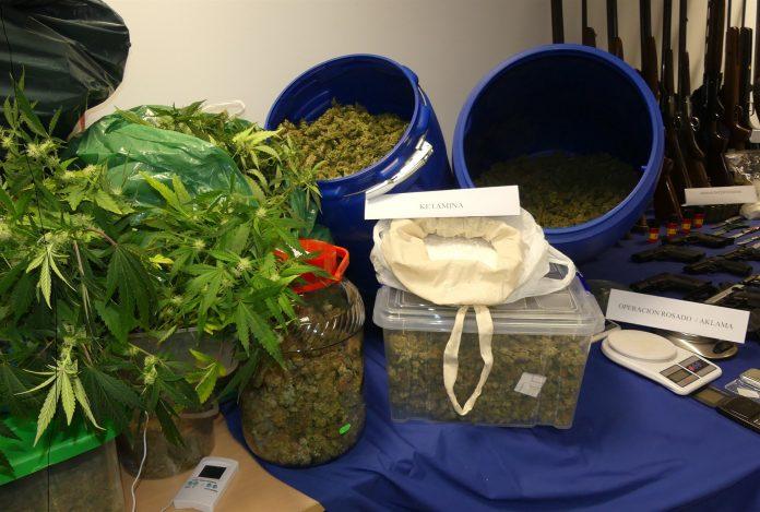 La Policía Nacional destacó que las provincias con la mayor cantidad de drogas incautadas fueron Burgos y León.