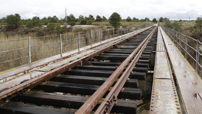 El puente de Coca es el punto más complejo de esta fase. /NEREA LLORENTE