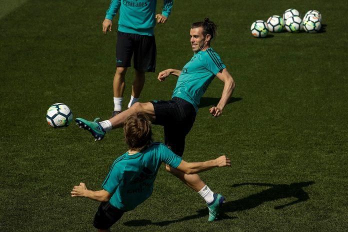 Bale, que no jugó ningún minuto ante el Bayern, será de la partida esta tarde.