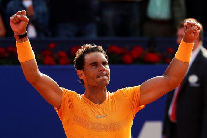 Rafa Nadal celebra su victoria ante el eslovaco Martin Klizan y ahora se medirá con el belga David Goffin.