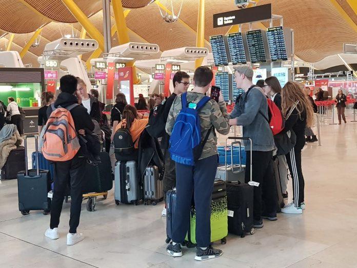 Del total de viajeros, 12,6 millones corresponden a vuelos internacionales.