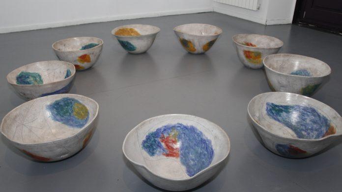 Varias de las cerámicas expuestas. / Nerea Llorente